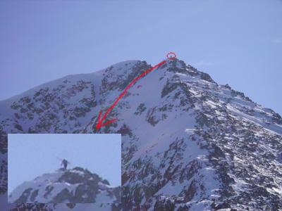 Вершина горы Тодорка